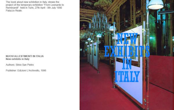 New Exhibits in Italy